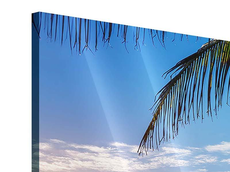 Acrylglasbild Panorama Sandkörner