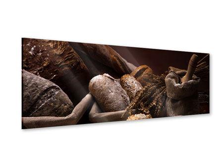 Acrylglasbild Panorama Brotbäckerei