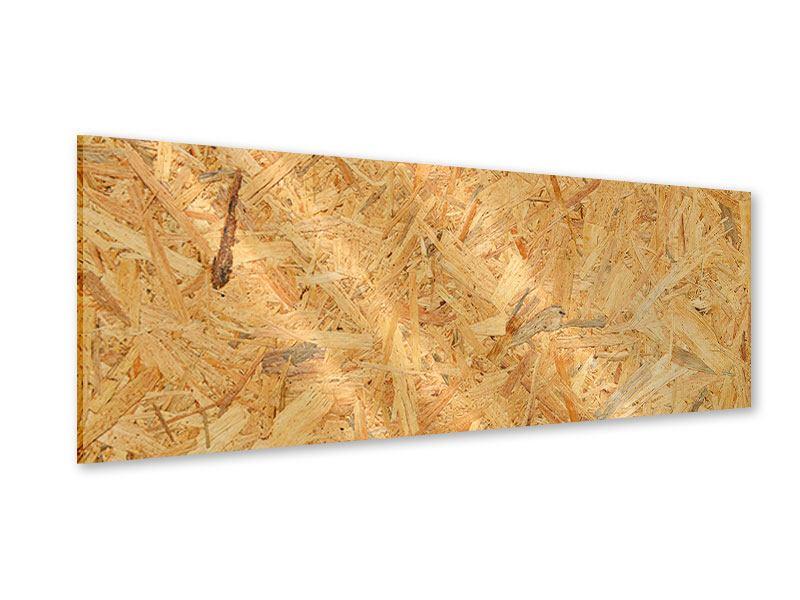 Acrylglasbild Panorama Gepresstes Holz