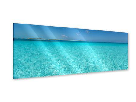 Acrylglasbild Panorama Das Meer und Jules Verne