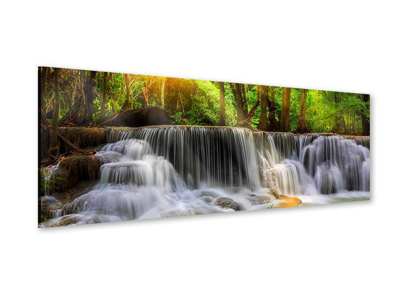 Acrylglasbild Panorama Nationalpark Si Nakharin