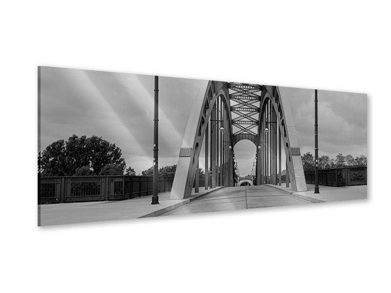 Acrylglasbild Panorama Poetische Brücke