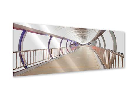 Acrylglasbild Panorama Brückenfeeling