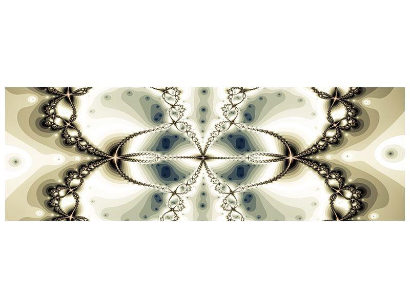 Acrylglasbild Panorama Abstrakter Schmetterling