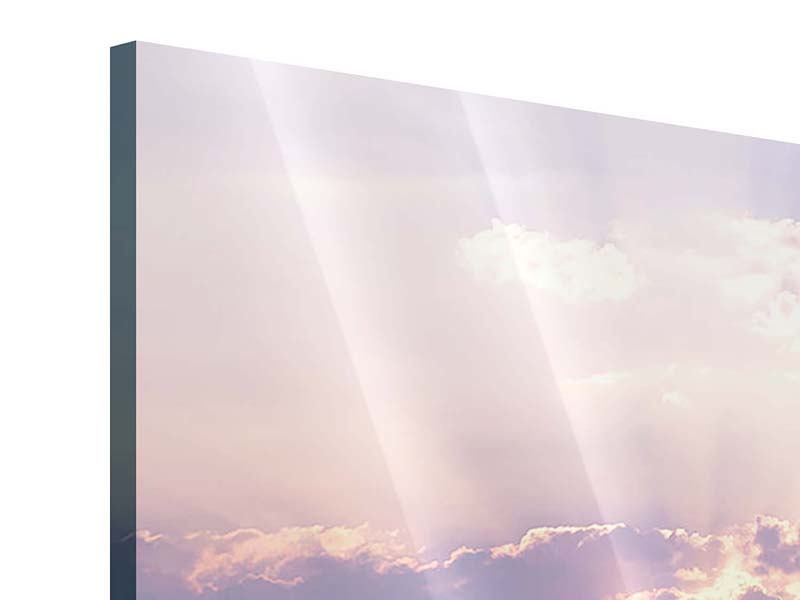 Acrylglasbild Panorama Sonnenaufgang am Meer