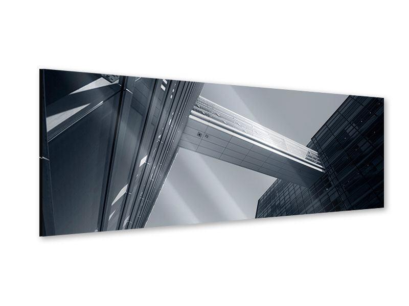 Acrylglasbild Panorama Der schwarze Diamant Kopenhagens