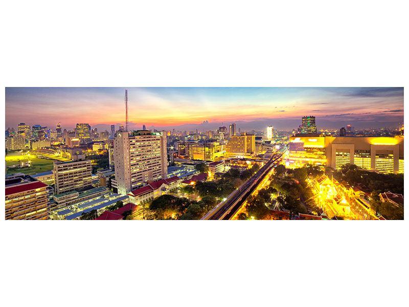 Acrylglasbild Panorama Bangkok