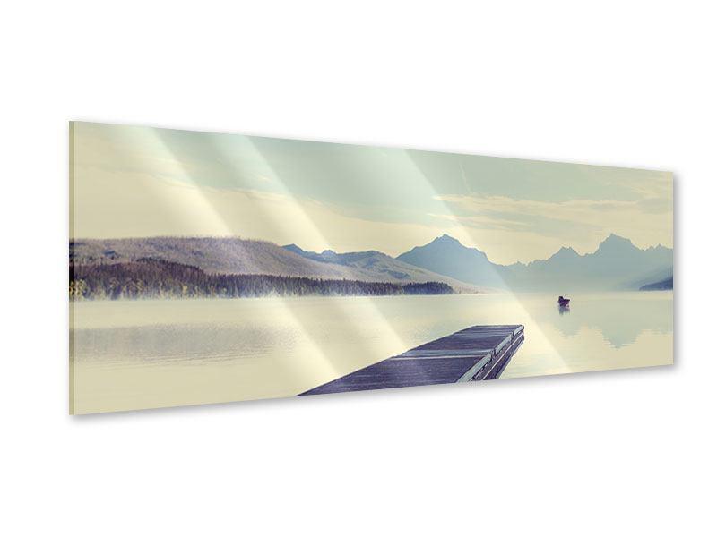 Acrylglasbild Panorama Bergromantik