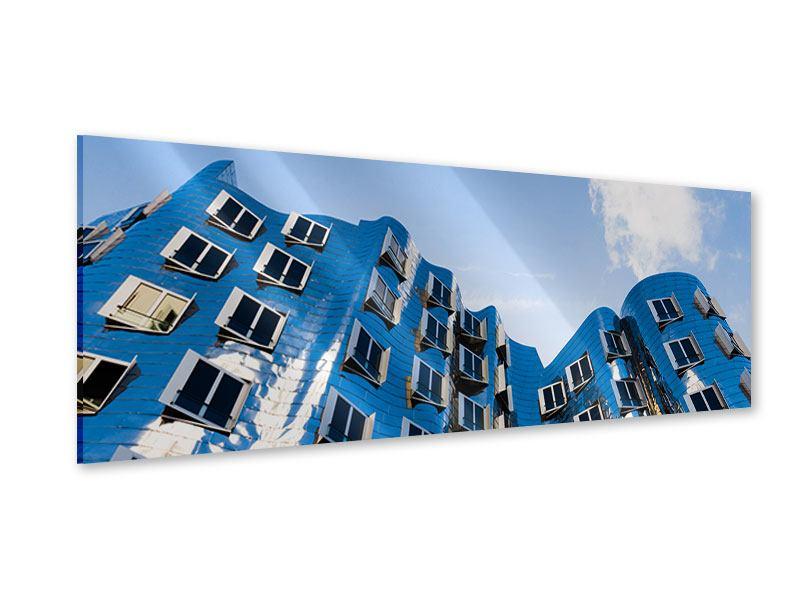 Acrylglasbild Panorama Neuer Zollhof