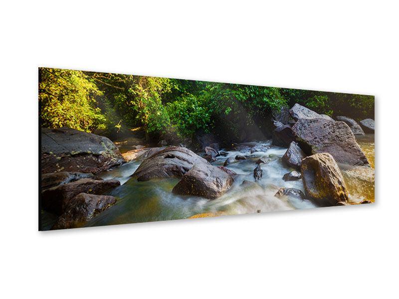 Acrylglasbild Panorama Das Gewässer
