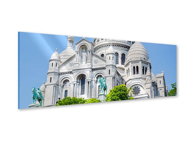 Acrylglasbild Panorama Paris- Montmartre