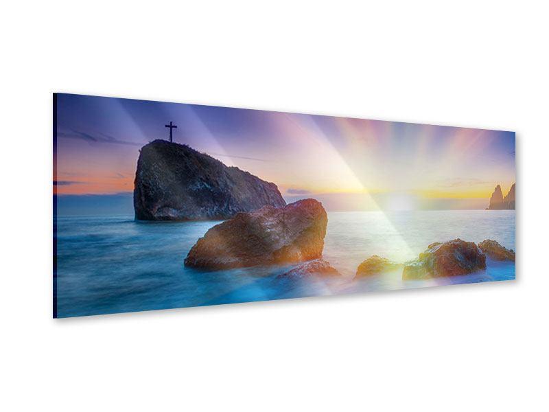 Acrylglasbild Panorama Mystisches Meer