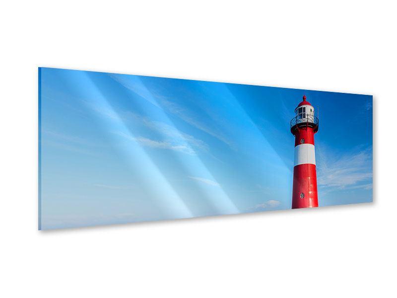 Acrylglasbild Panorama Der Leuchtturm
