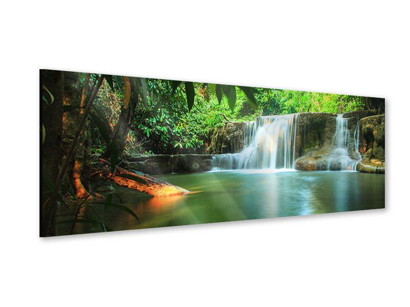 Acrylglasbild Panorama Element Wasser