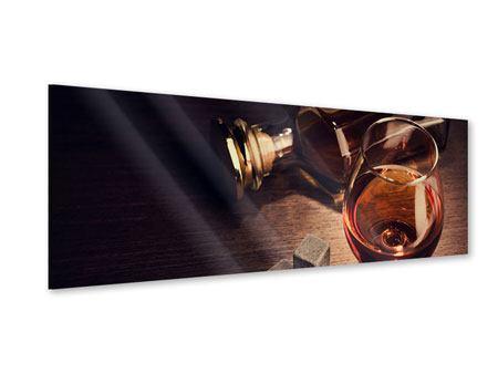 Acrylglasbild Panorama Ein Glas Cognac