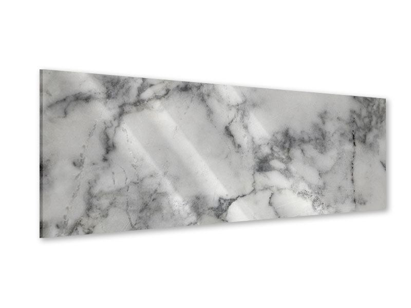 Acrylglasbild Panorama Klassischer Marmor