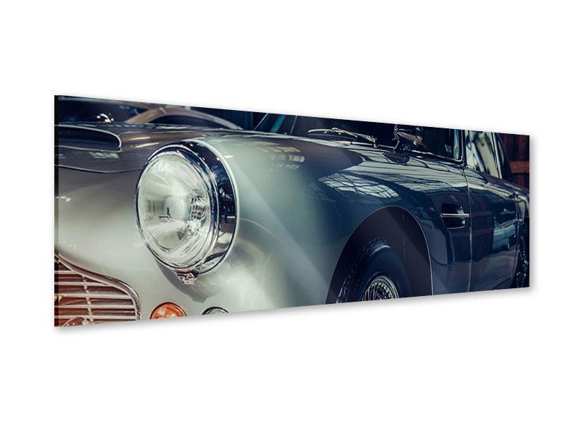 Acrylglasbild Panorama Classic Car