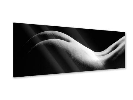 Acrylglasbild Panorama Nude