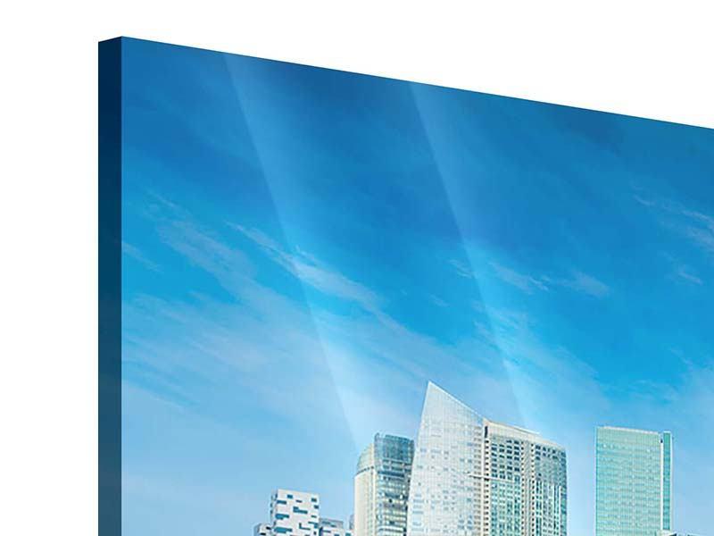 Acrylglasbild Panorama Skyline Mexiko-Stadt