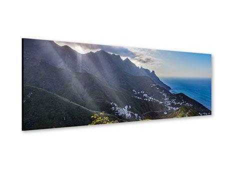 Acrylglasbild Panorama Der Frühling in den Bergen