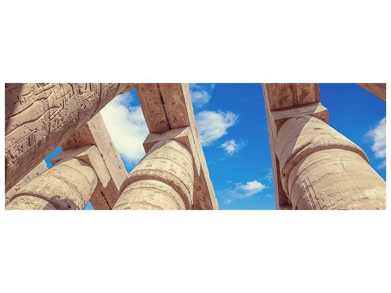 Acrylglasbild Panorama Tempelsäulen