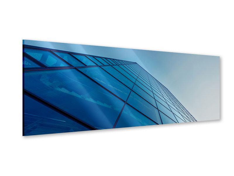 Acrylglasbild Panorama Wolkenkratzer-Highlight