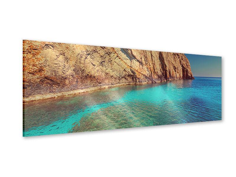 Acrylglasbild Panorama Wasser
