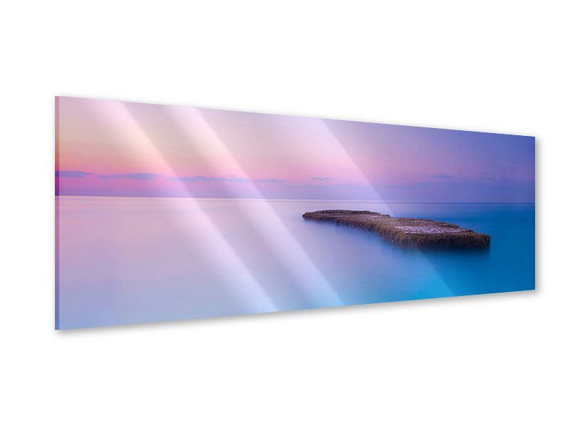Acrylglasbild Panorama Unendlicher Ozean