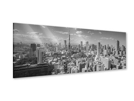 Acrylglasbild Panorama Tokio