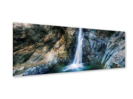 Acrylglasbild Panorama Bewegtes Wasser