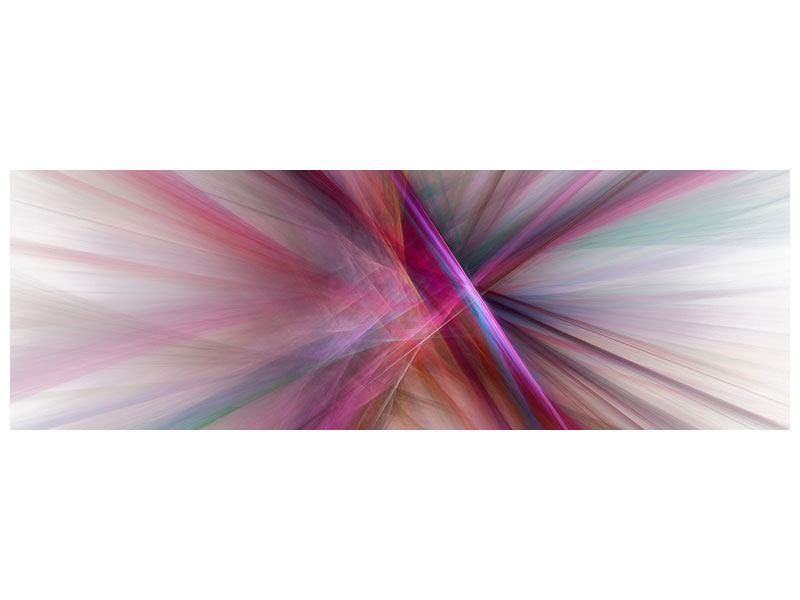 Acrylglasbild Panorama Abstraktes Lichterleuchten