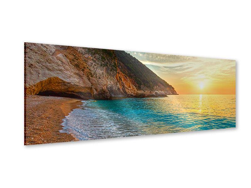Acrylglasbild Panorama Aussicht