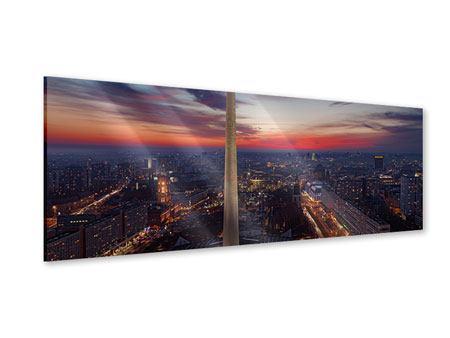 Acrylglasbild Panorama Berlin