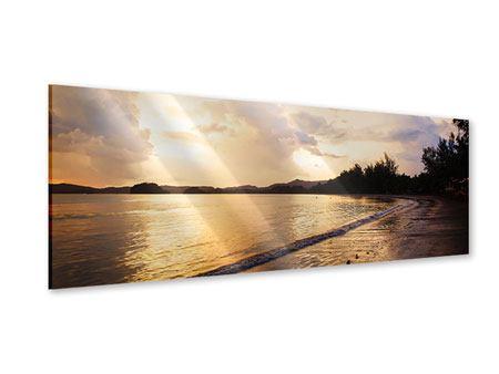 Acrylglasbild Panorama Das Ufer
