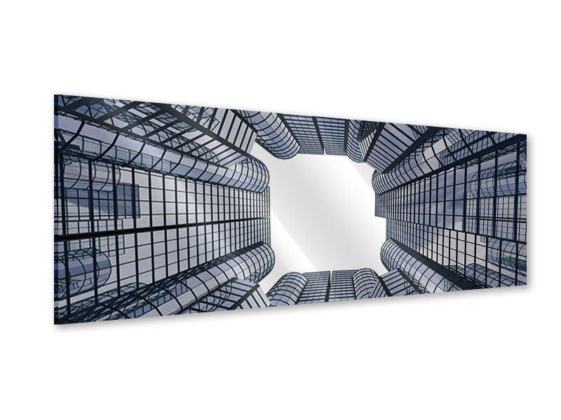 Acrylglasbild Panorama Besondere Perspektive