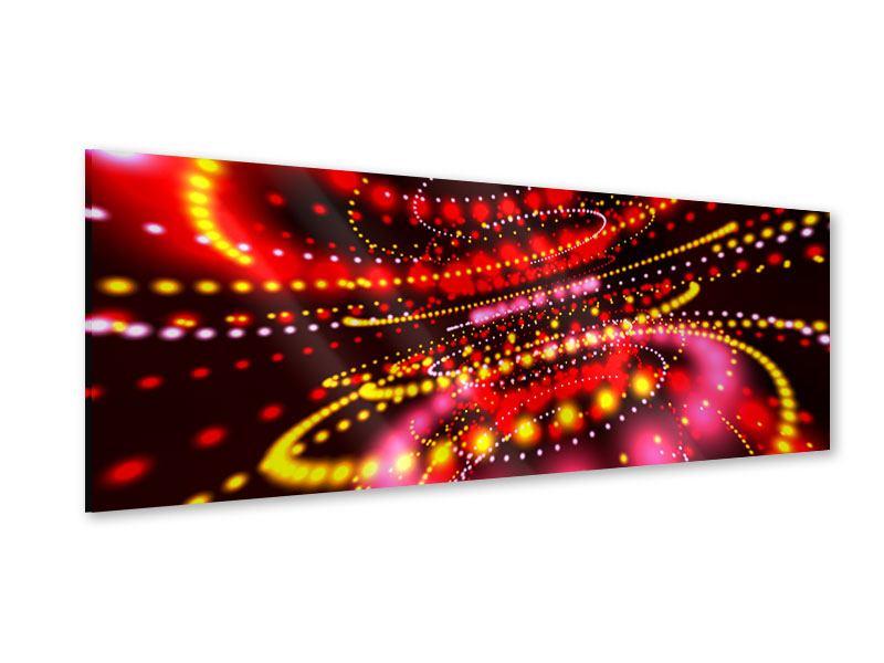 Acrylglasbild Panorama Abstraktes Lichtspiel