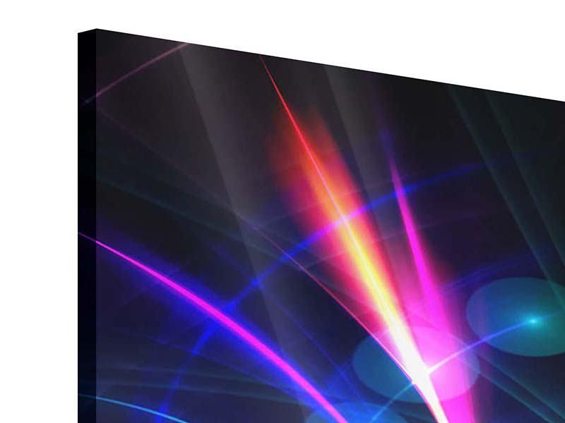 Acrylglasbild Panorama Abstrakte Lichtreflexe