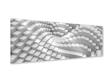 Acrylglasbild Panorama 3D-Elemente