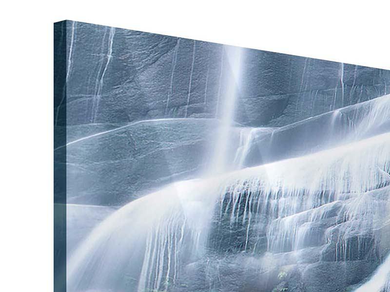 Acrylglasbild Panorama Grossartiger Wasserfall