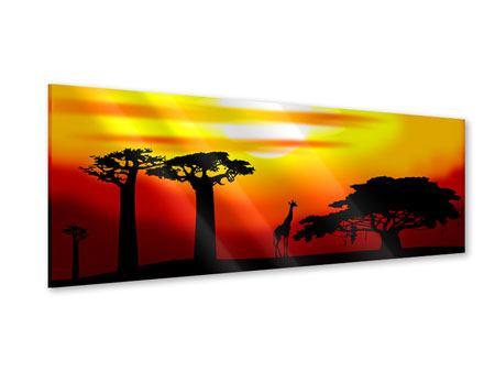 Acrylglasbild Panorama Faszination Afrika