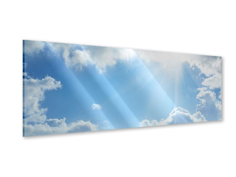 Acrylglasbild Panorama Himmelshoffnung