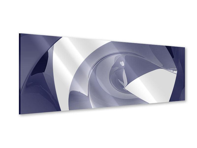 Acrylglasbild Panorama Abstrakte Schwingungen