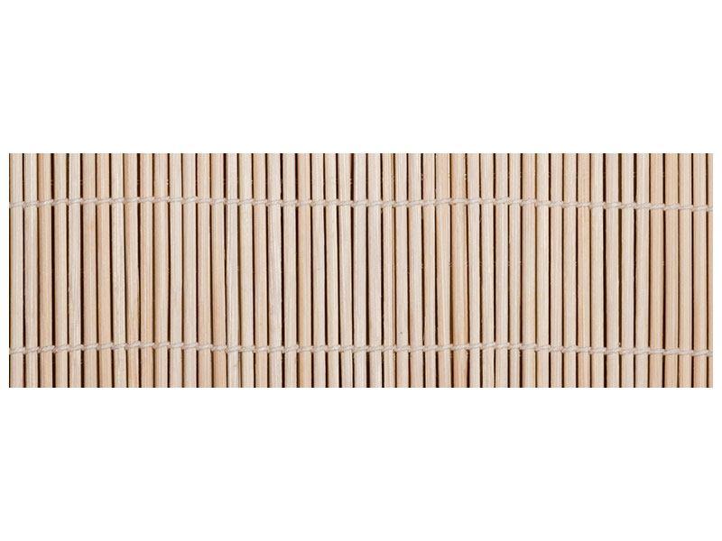 Acrylglasbild Panorama Lucky Bamboo