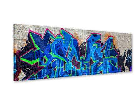 Acrylglasbild Panorama Graffiti NYC