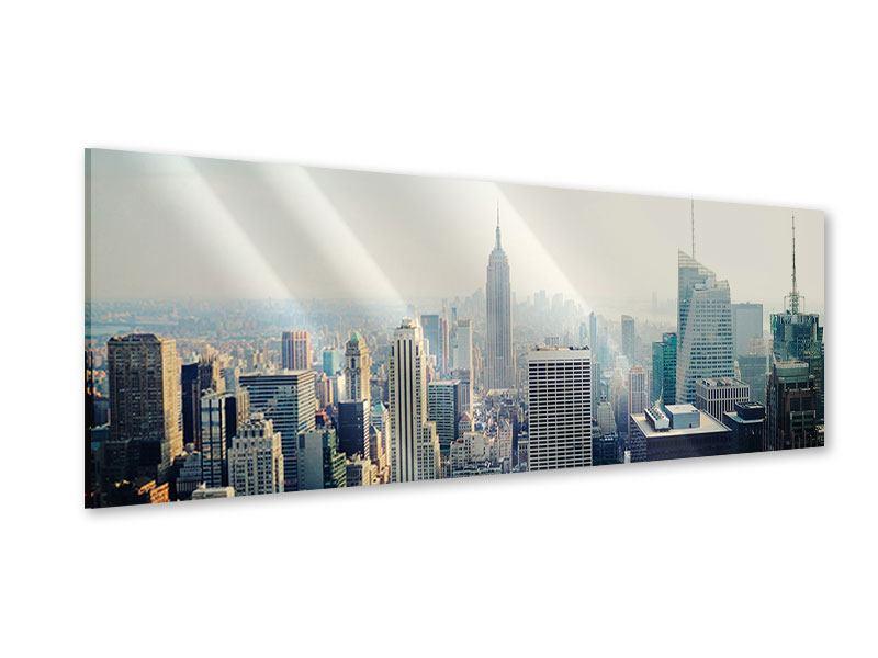 Acrylglasbild Panorama NYC