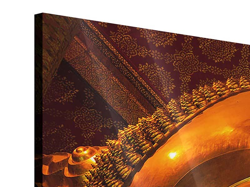 Acrylglasbild Panorama Liegender Buddha