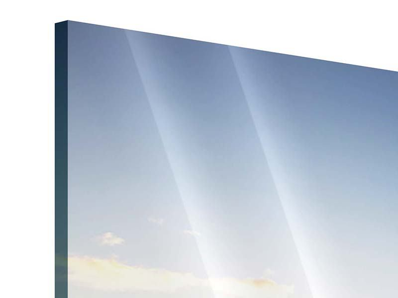 Acrylglasbild Panorama Katamaran