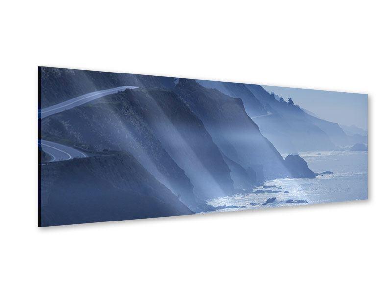 Acrylglasbild Panorama Bewegung im Wasser