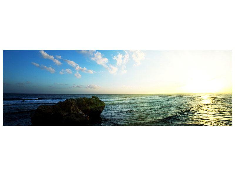 Acrylglasbild Panorama Die See