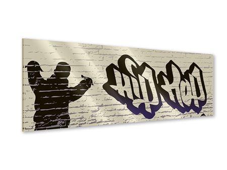 Acrylglasbild Panorama Graffiti Hip Hop
